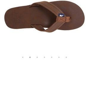 e2a372a91301 Vineyard Vines Shoes - Vineyard Vines leather flip flops